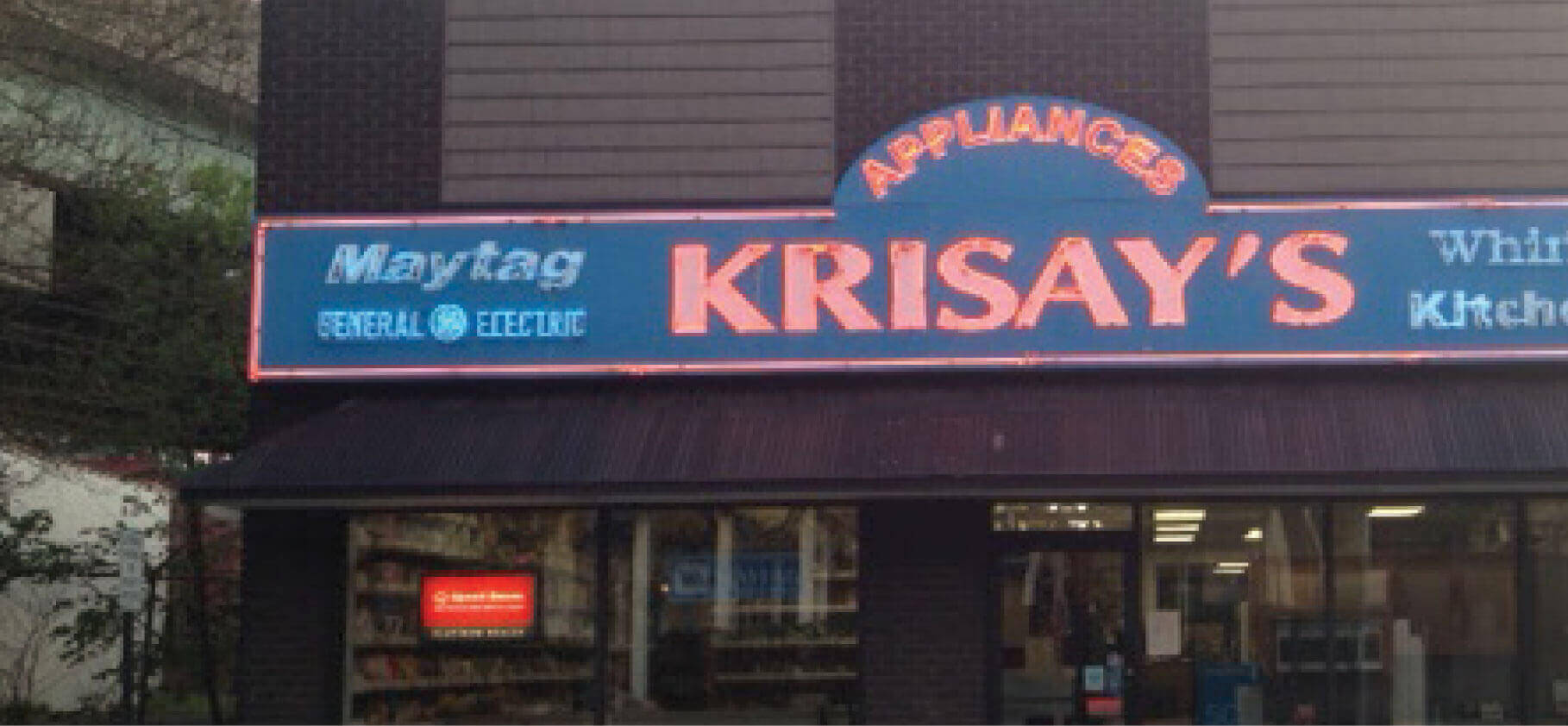 View Krisay's Appliance & Bedding Case Study